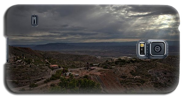 Storm Clouds And Suns Rays Jerome Az Galaxy S5 Case