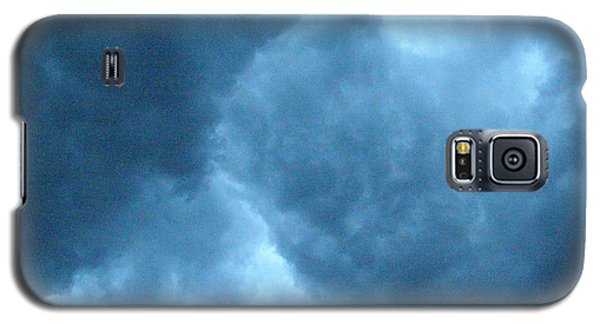 Galaxy S5 Case featuring the photograph Storm Clouds by Angie Rea