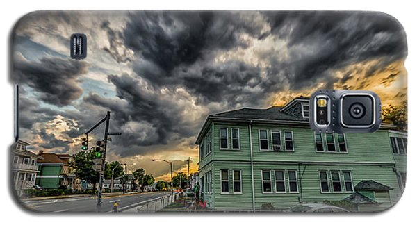 Storm Clouds At Sunset Galaxy S5 Case