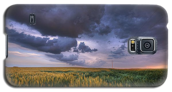 Storm Clouds Over Barley Galaxy S5 Case