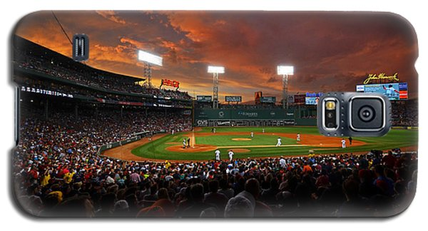 Storm Clouds Over Fenway Park Galaxy S5 Case