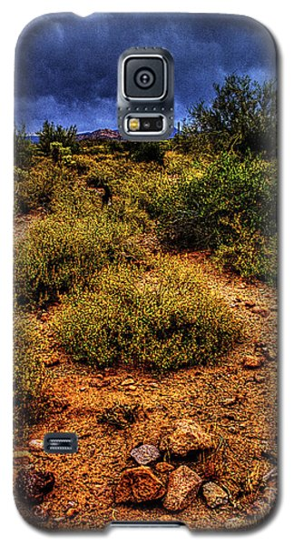 Storm Clouds Over The Sonoran Desert In Spring Galaxy S5 Case