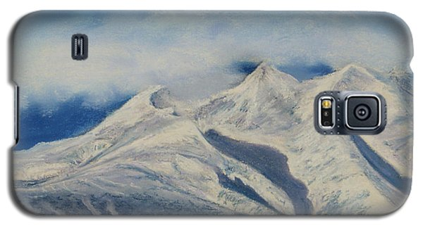 Storm Clouds Over Winter Mountain Blues Galaxy S5 Case