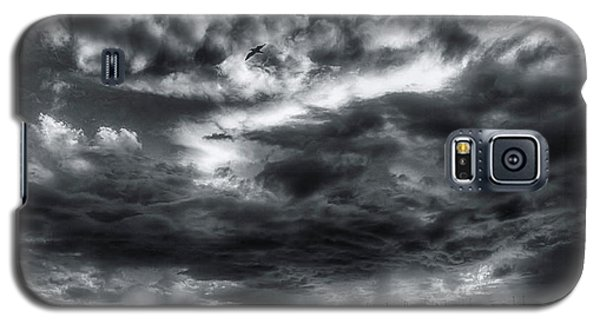 Storm Clouds Ventura Ca Pier Galaxy S5 Case by John A Rodriguez
