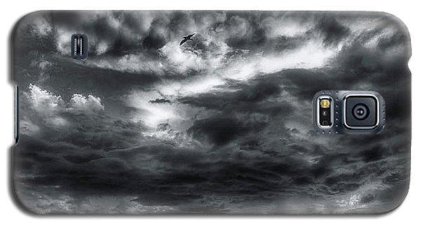 Storm Clouds Ventura Ca Pier Galaxy S5 Case
