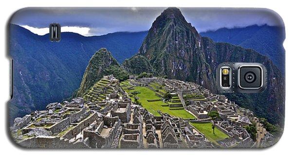 Storm Inbound To Machu Picchu Galaxy S5 Case