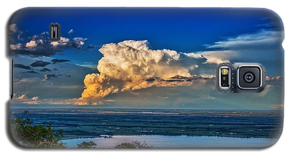 Galaxy S5 Case featuring the photograph Storm On The Horizon by James Menzies