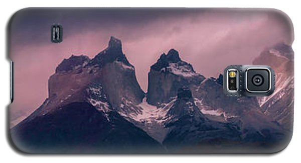 Galaxy S5 Case featuring the photograph Storm On The Peaks by Andrew Matwijec