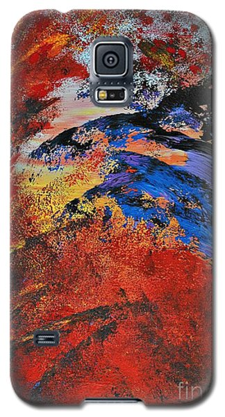 Storm On The Sea Galaxy S5 Case