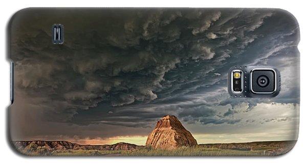 Storm Over Dinosaur Galaxy S5 Case
