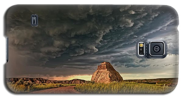 Storm Over Dinosaur Galaxy S5 Case