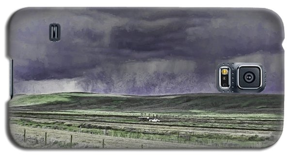 Storm Over Monida Pass  Galaxy S5 Case