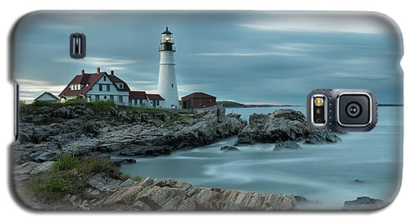 Storm Passing At Portland Head Light Galaxy S5 Case