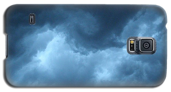 Galaxy S5 Case featuring the photograph Storm Rolling In by Angie Rea