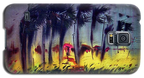 Galaxy S5 Case featuring the painting Storm by Samiran Sarkar