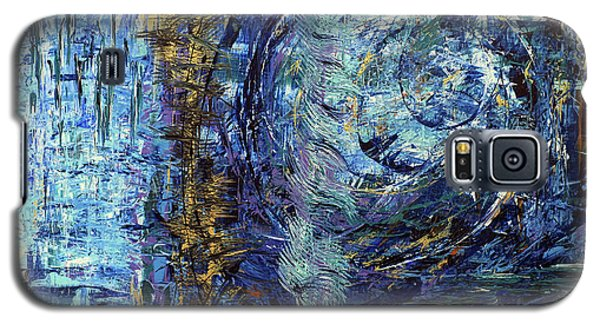 Galaxy S5 Case featuring the painting Storm Spirits by Cathy Beharriell