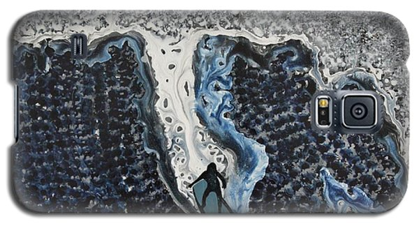 Storm Surfer Original Painting Sold Galaxy S5 Case