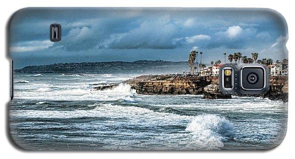 Storm Wave At Sunset Cliffs Galaxy S5 Case