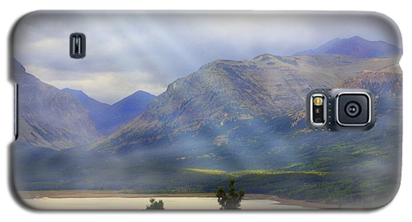 Storms A Coming-lower Two Medicine Lake Galaxy S5 Case