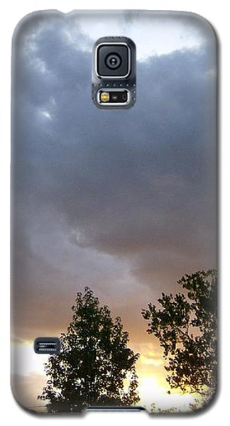 Galaxy S5 Case featuring the photograph Storms On The Horizon by Skyler Tipton