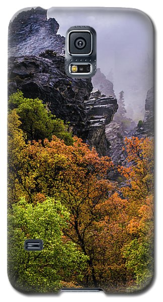 Stormy American Fork Canyon - Wasatch - Utah Galaxy S5 Case