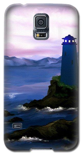 Stormy Blue Night Galaxy S5 Case