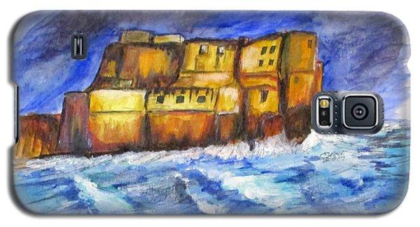 Stormy Castle Dell'ovo, Napoli Galaxy S5 Case