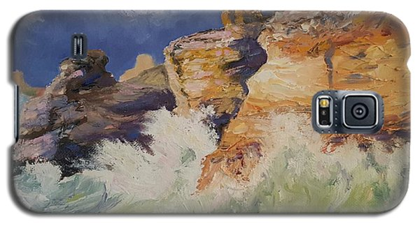 Stormy Cliffs At Sea Galaxy S5 Case