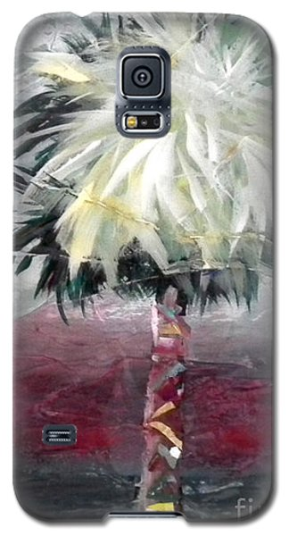 Stormy Horizons Palm Tree Galaxy S5 Case