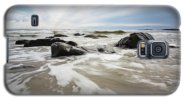 Stormy Maine Morning #3 Galaxy S5 Case