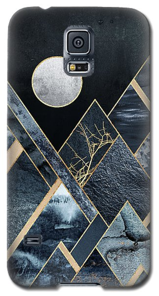 Mountain Galaxy S5 Case - Stormy Mountains by Elisabeth Fredriksson