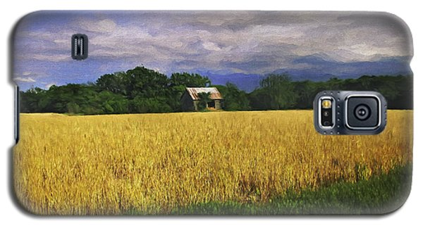 Stormy Old Barn In Wheat Field 2 Galaxy S5 Case