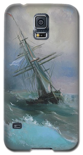 Stormy Sails Galaxy S5 Case