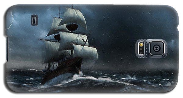 Stormy Seas - Nautical Art Galaxy S5 Case