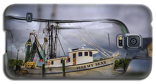 Stormy Seas - Ship In A Bottle Galaxy S5 Case