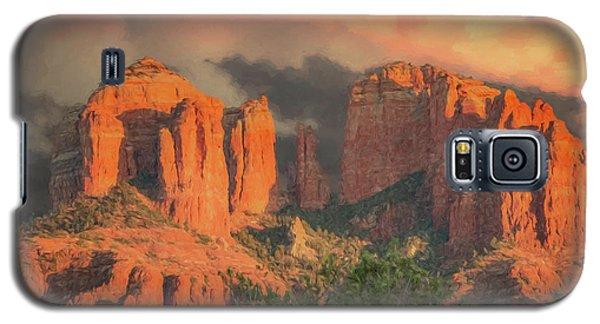 Stormy Sedona Sunset Galaxy S5 Case