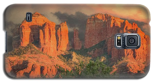 Stormy Sedona Sunset Galaxy S5 Case