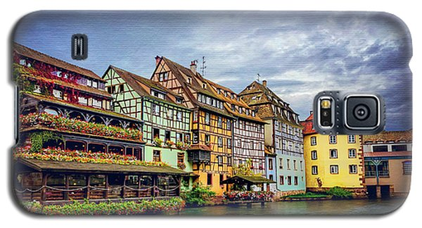 Stormy Skies In Strasbourg Galaxy S5 Case by Carol Japp