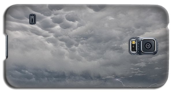 Galaxy S5 Case featuring the photograph Stormy Skies In Wyoming by Sandra Bronstein