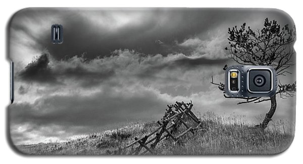 Stormy Sky At The Ranch Galaxy S5 Case