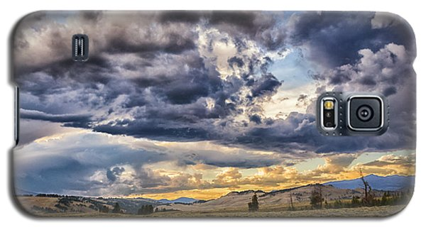 Stormy Sunset At Blacktail Plateau Galaxy S5 Case