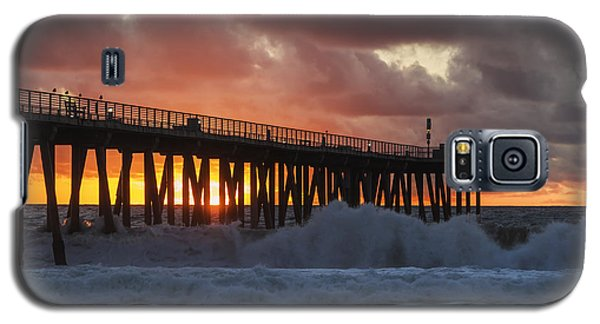 Stormy Sunset Galaxy S5 Case