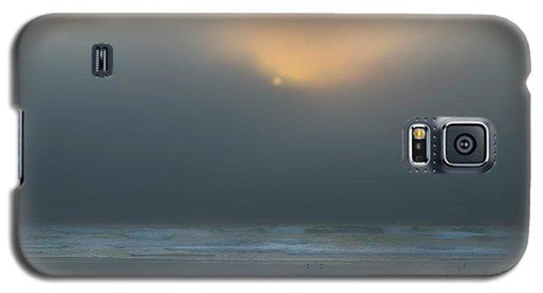 Galaxy S5 Case featuring the photograph Stormy Sunset Oregon Coast by Yulia Kazansky