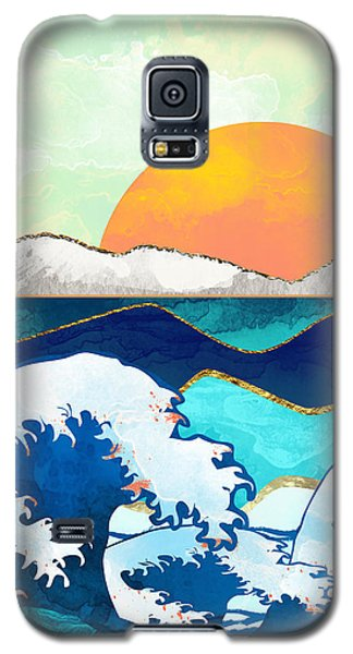 Landscapes Galaxy S5 Case - Stormy Waters by Spacefrog Designs
