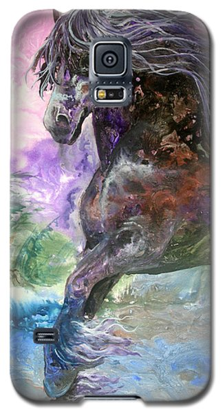 Stormy Wind Horse Galaxy S5 Case