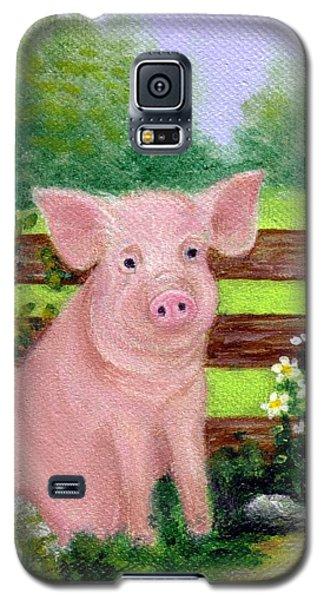 Storybook Pig Galaxy S5 Case by Sandra Estes