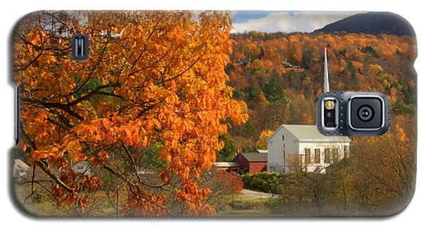 Stowe Vermont In Autumn Galaxy S5 Case