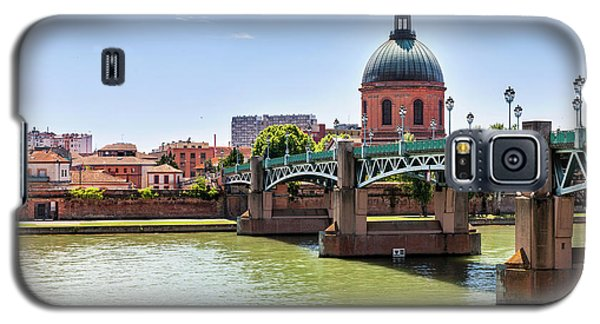 Galaxy S5 Case featuring the photograph St.pierre Bridge In Toulouse by Elena Elisseeva