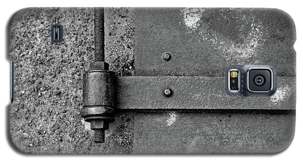 Galaxy S5 Case featuring the photograph Straight Metal by Karol Livote