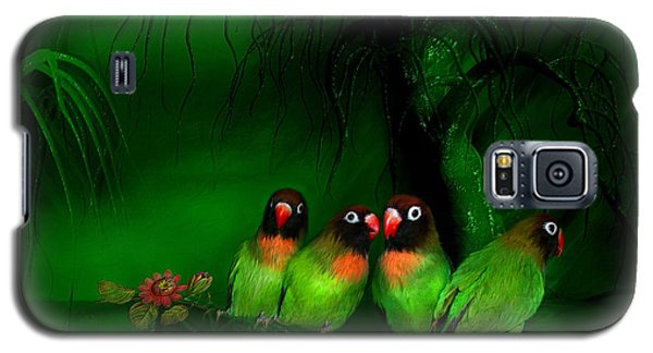 Strange Love Galaxy S5 Case by Carol Cavalaris